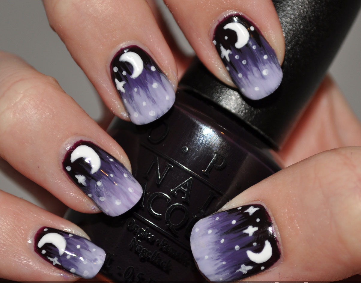 Nail Art Ideas: Black Nail Arts